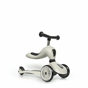 Scoot&Ride løbehjul highwaykick 1 ash