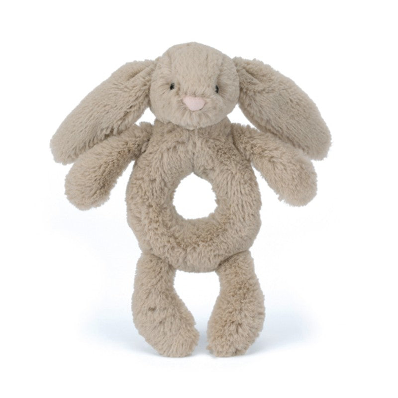 Jellycat Bashful kanin rangle, Beige