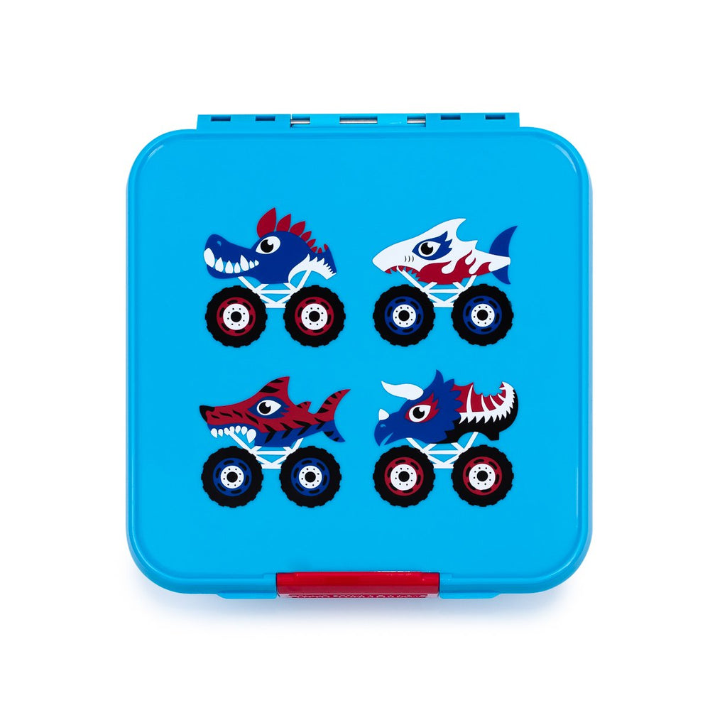 Little Lunch Box Bento Three madkasse Monster truck