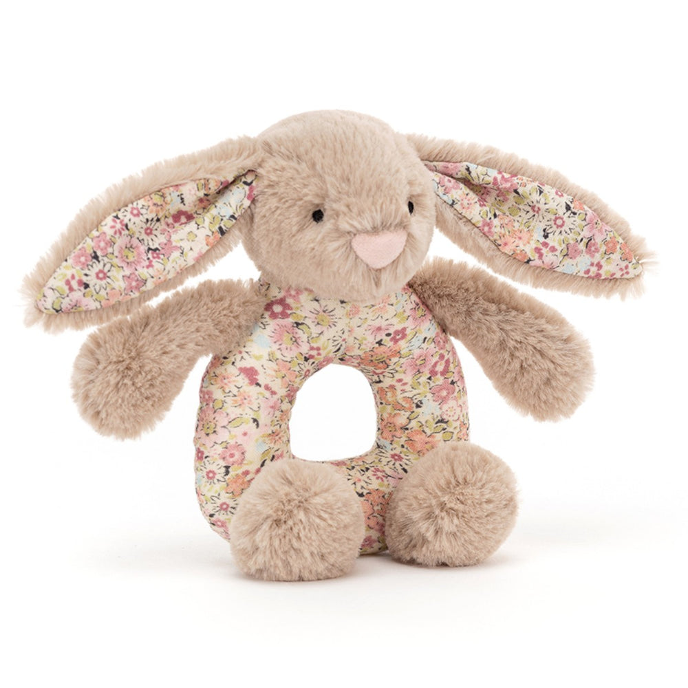 Jellycat Bashful Blossom Beige kanin rangle