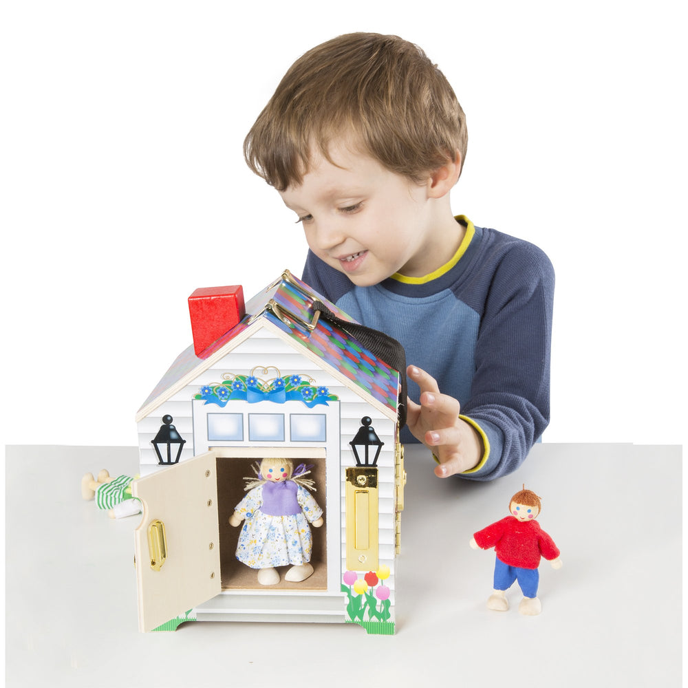 Melissa & Doug Doorbell house - All About Kids Odense