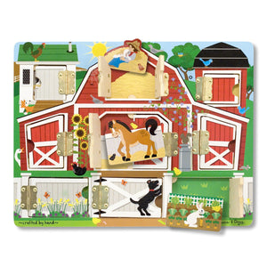 Melissa & Doug magnetisk hide & seek Bondegård - All About Kids Odense