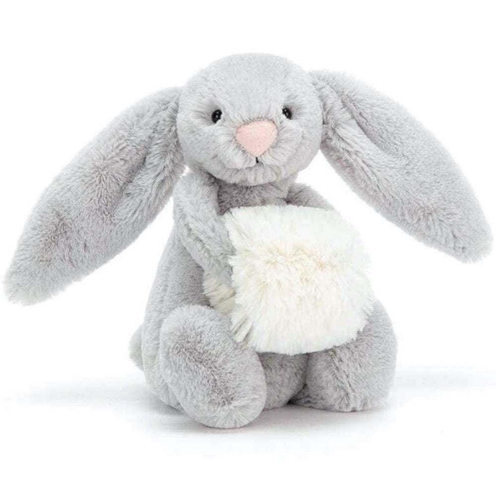Jellycat I am Small Bashful Silver Snow Bunny