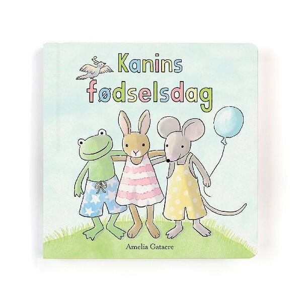 Load image into Gallery viewer, Jellycat kanins fødselsdag bog I Jellycat bamser I All about Kids
