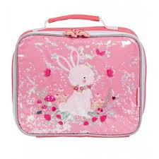 A little lovely Cool bag Glitter bunny