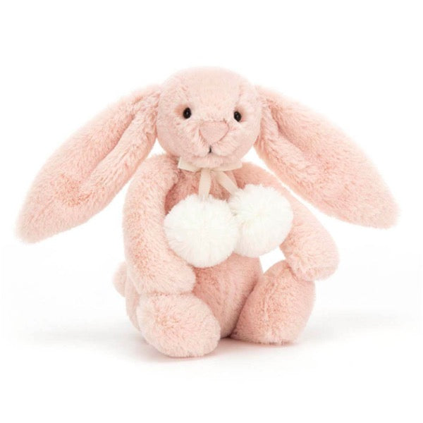 Jellycat I am Bashful Blush Snow Bunny