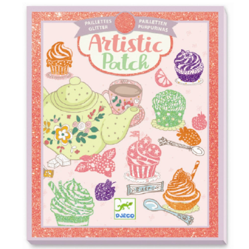 Djeco artistic patch Muffin