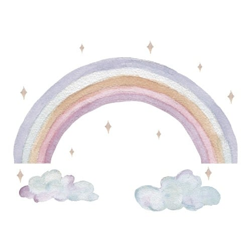 That's mine wall stickers Fairy rainbow