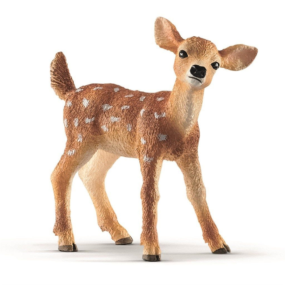 Schleich white tailed kalv - All About Kids Odense
