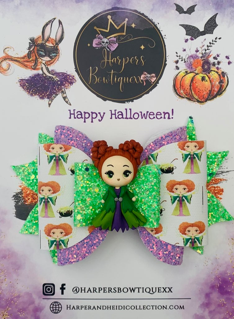 Winnifred- Hocus Pocus Clay Bow