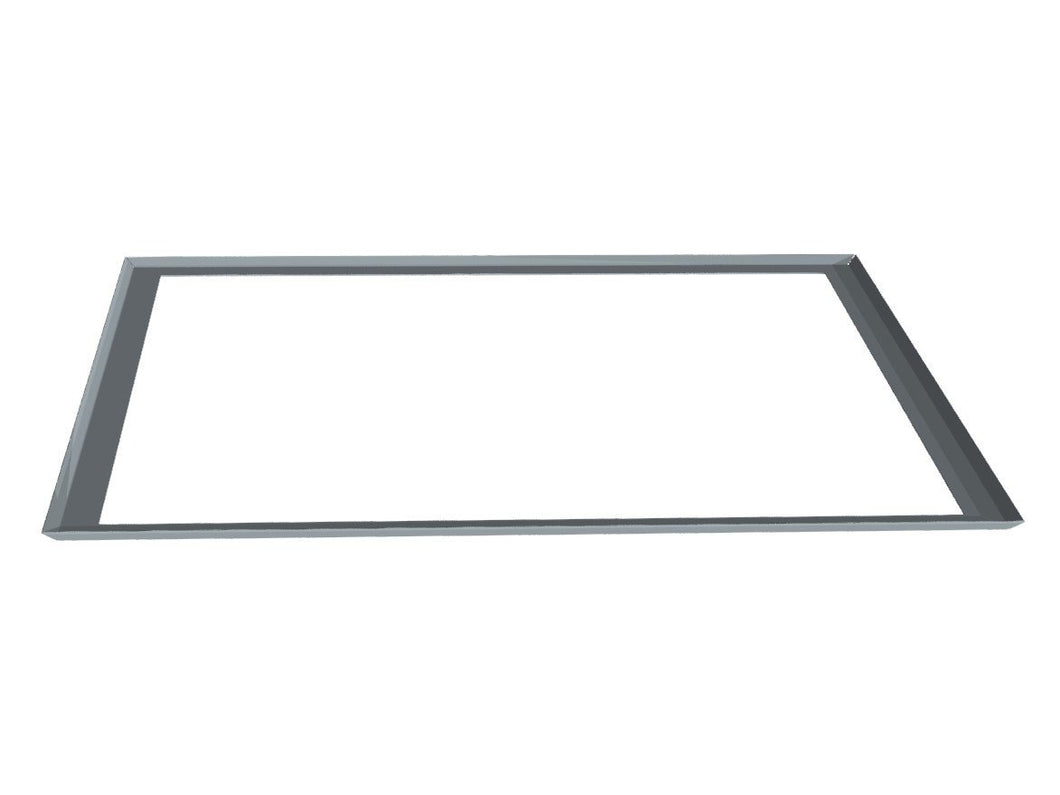 Drip Tray for BBQ in galvanised steel