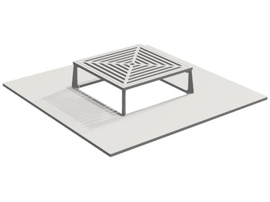 BBQ Plate and Grate for CUBY 80 x 80 cm..