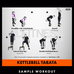 Tabata Madness- 50 Conditioning Workouts