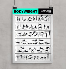 Load image into Gallery viewer, Bodyweigh-poster-32-exercises