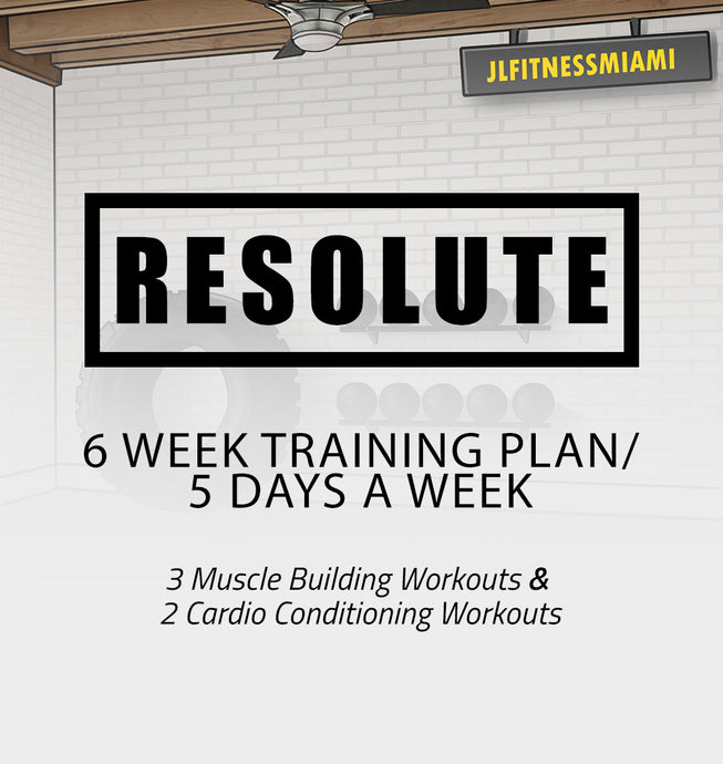 6 Week Training Plan