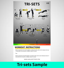 Load image into Gallery viewer, 50 HIIT Workouts By JLTINESSMIAMI- Fat Loss Workouts