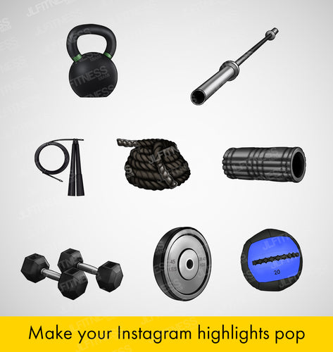 Fitness Icons for Instagram Highlights