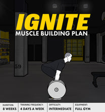 Load image into Gallery viewer, Ignite- 8 Week Muscle Building Plan