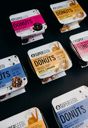 Superseed Donuts - 8 Packs