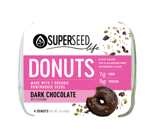 Dark Chocolate Donuts, 4 count (*Bulk 7 count limited time only)