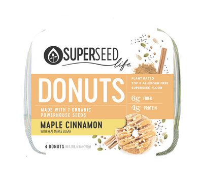 Maple Cinnamon Donuts, 4 count