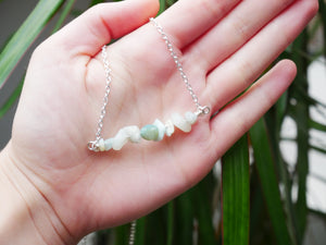 Amazonite Chip Necklace - Wandering Soul Jewellery