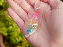 Load image into Gallery viewer, Rainbow Quartz Necklace - Wandering Soul Jewellery