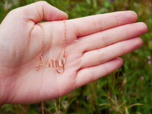 Load image into Gallery viewer, Personalized Name Necklace - Wandering Soul Jewellery
