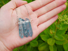 Load image into Gallery viewer, Blue Quartz Necklace - Wandering Soul Jewellery