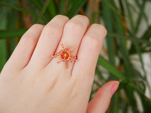 Load image into Gallery viewer, Carnelian Sun Ring - Wandering Soul Jewellery
