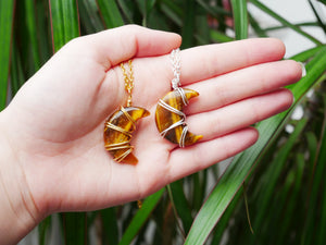 Tigers Eye Luna Necklace - Wandering Soul Jewellery