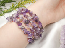 Load image into Gallery viewer, Purple Amethyst Chip Bracelet - Wandering Soul Jewellery