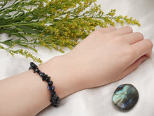 Load image into Gallery viewer, Blue Goldstone Chip Bracelet - Wandering Soul Jewellery