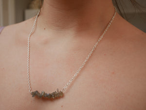 Labradorite Chip Necklace - Wandering Soul Jewellery