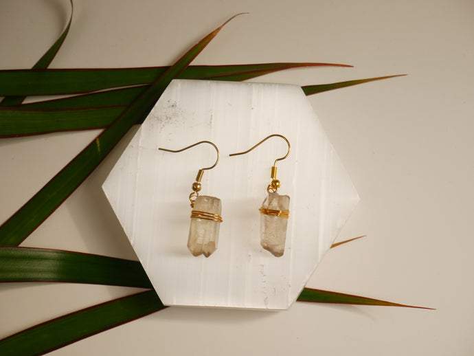 Smoky Quartz Earrings - Wandering Soul Jewellery