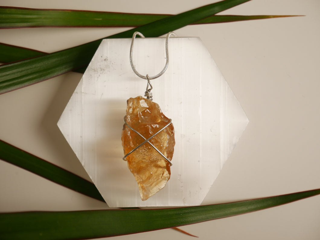 Honey Calcite Necklace - Wandering Soul Jewellery