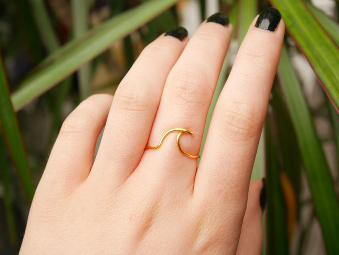Mindful Wave Ring - Wandering Soul Jewellery