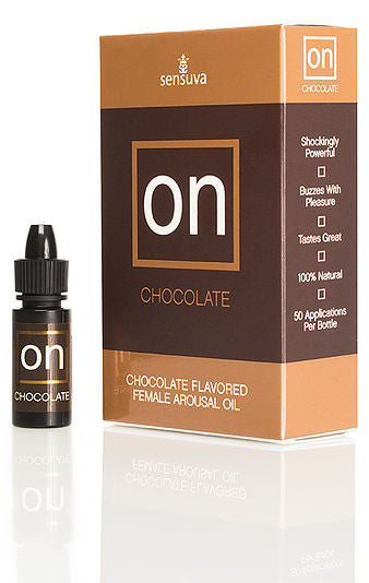 SENSUVA CHOCOLATE FLAVORED  FEMALE AROUSAL OIL