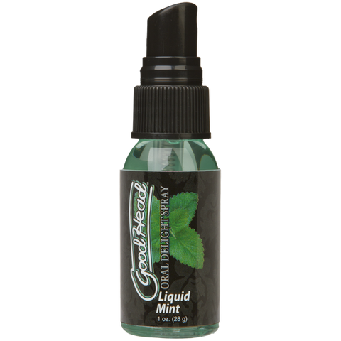 GoodHead - Oral Delight Spray - Liquid Mint - Condom-USA