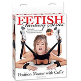 Fetish Fantasy Position Master With Cuffs (Package Of 3)