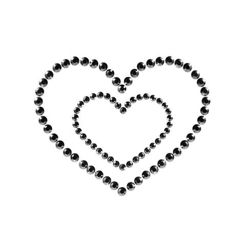 MIMI HEARTS-BLACK - Condom-USA