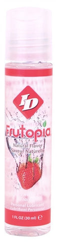 ID Frutopia Raspberry  Flavored Lubricant Natural   1oz - Condom-USA