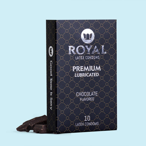 Royal Chocolate Condoms -10pk