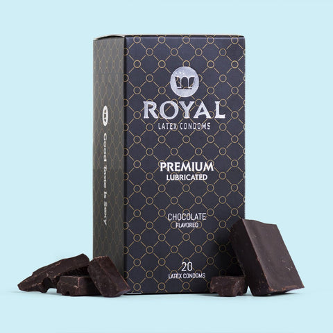 Royal Chocolate Condoms -20pk