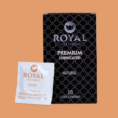 Royal Natural Condoms -10pk