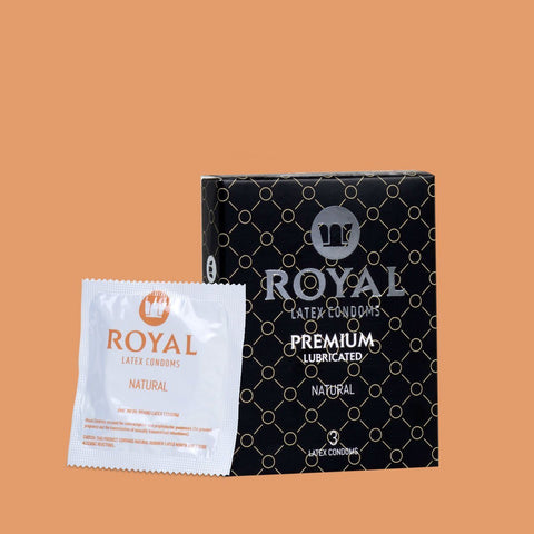 Royal Natural Condoms -3pk