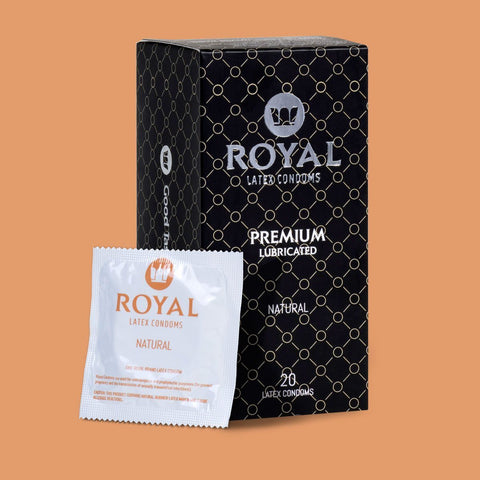 Royal Natural Condoms -20pk
