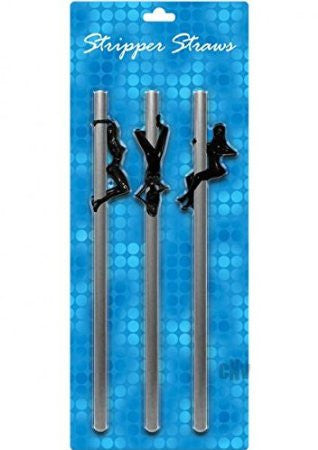 Female Stripper Straws for Boys Stag Night - Condom-USA