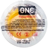 ONE® Condoms FlavorWaves™ 12-Pack, Bundle of 3 - Condom-USA  - 2