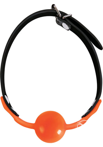 ORANGE IS THE NEW BLACK SILIGAG SILICONE BALL GAG - Condom-USA  - 1